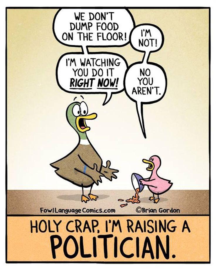 "15 hilarious parenting comics that are almost too real. (Brian Gordon's ""Fowl Language"" www.fowllanguagecomics.com )"