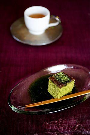 sarajyaの「のんびりのびのび」「お抹茶カステラ」 | お菓子・パンのレシピや作り方【corecle*コレクル】