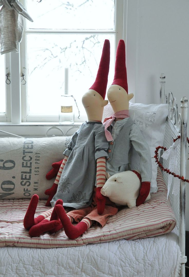 Nisse/Elves in Oland, Sweden