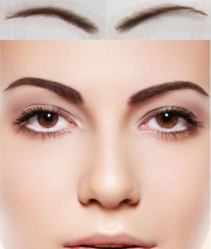 Wigs Eyebrows Stencils 73