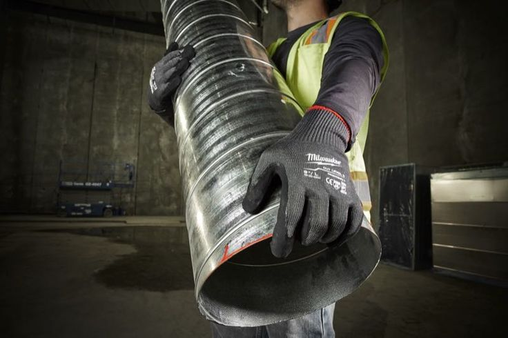 Milwaukee Dipped Gloves line up with the latest ANSI standards and feature a SmartSwipe design to allow use with touchscreens.  . https://www.protoolreviews.com/tools/safety-workwear/milwaukee-dipped-gloves/33730/ . #MilwaukeeTool #NBHD #DippedGloves #HandProtection #SmartSwipe