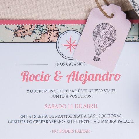 33 best invitaciones papelera regalos images on pinterest invitacin de boda viaje stopboris Gallery
