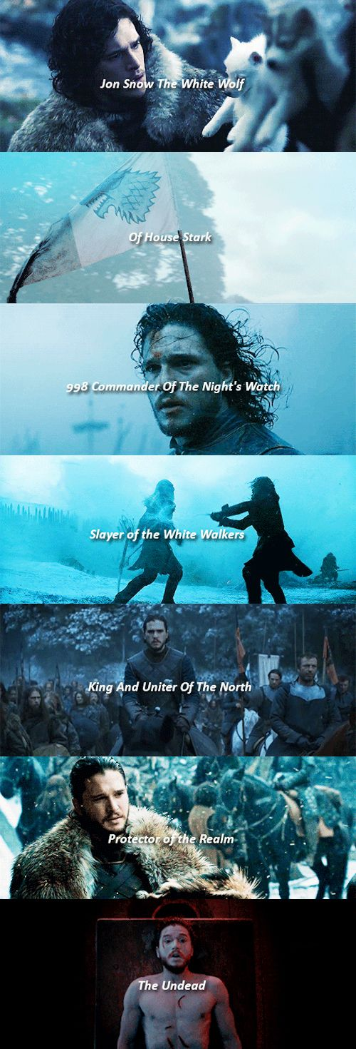 "See this is what Ser Davos should have said about Jon to Dany rather just ""This is Jon Snow .......um ......... he's King of the North"""