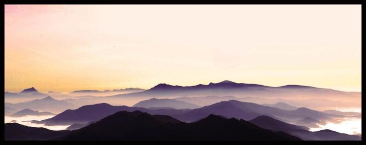Las vistas desde el monte Kolitza