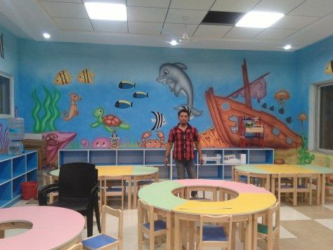 60 best playschool wall painting ideas images on Pinterest   Link ...