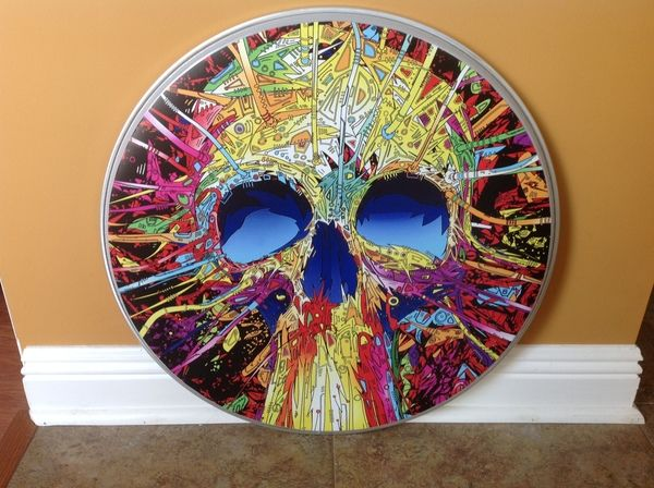 custom drumheads | awdrums - CUSTOM DRUM HEADS I might start doing this with my drumheads