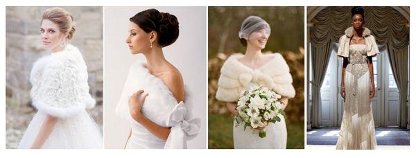 меховая горжетка  #wedding #bride #winter