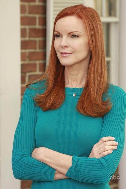 The lovely Marcia Cross as Bree Van de Kamp