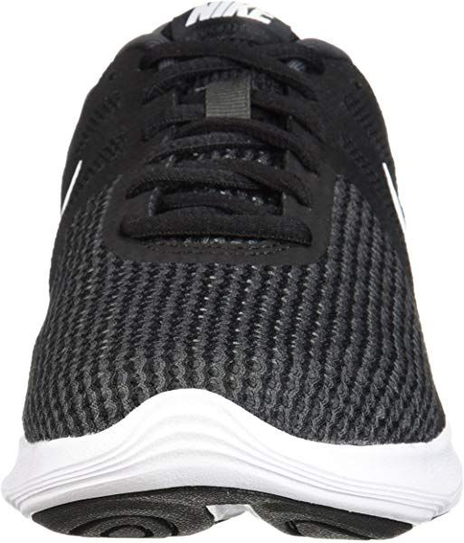51950c90255 Amazon.com | NIKE Men's Revolution 4 Running Shoe, Black/White-Anthracite,  6 Regular US | Road Running