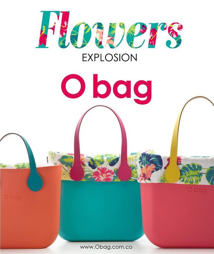 Flowers EXPLOSION #obag www.Obag.com.co