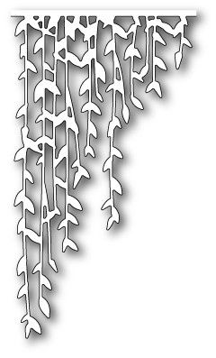 Poppystamps - Dies - Weeping Willow Branches (ships April 21st)