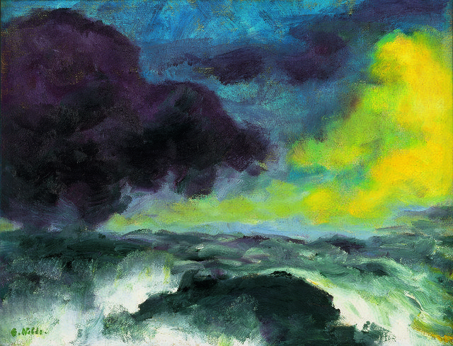 Landschaftsmalerei expressionismus nolde  756 besten emil nolde Bilder auf Pinterest   Emil nolde ...