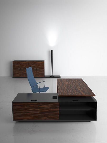 modern home office desk design and cabinet by sinetica