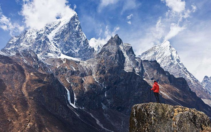 <p>You're sure to find some sort of athlete's high after trekking to the top of Mount Everest, the world's highest peak.</p>