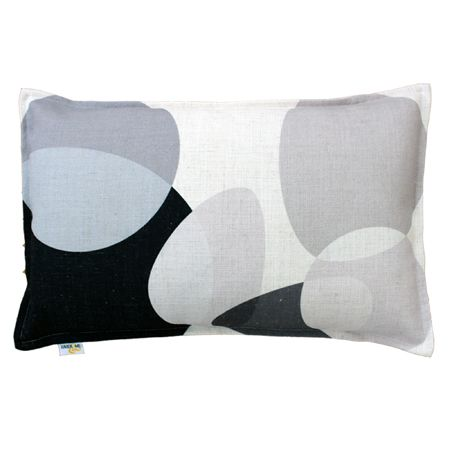 Eclipse Cushion in Black