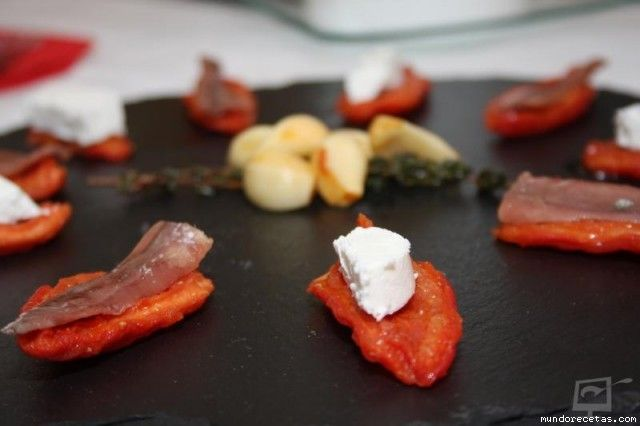Tomates confitados de canela molida (Martin Berasategui)