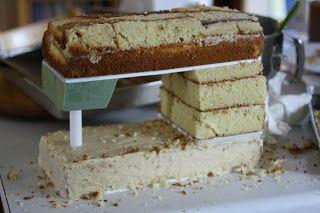 Aquí un tutorial para hacer la base para un pastel en forma de maquina de coser