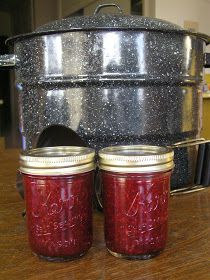 Well, I certainly did not think I would be getting out my home canning equipment in the middle of winter. However, I had so many raspberrie...