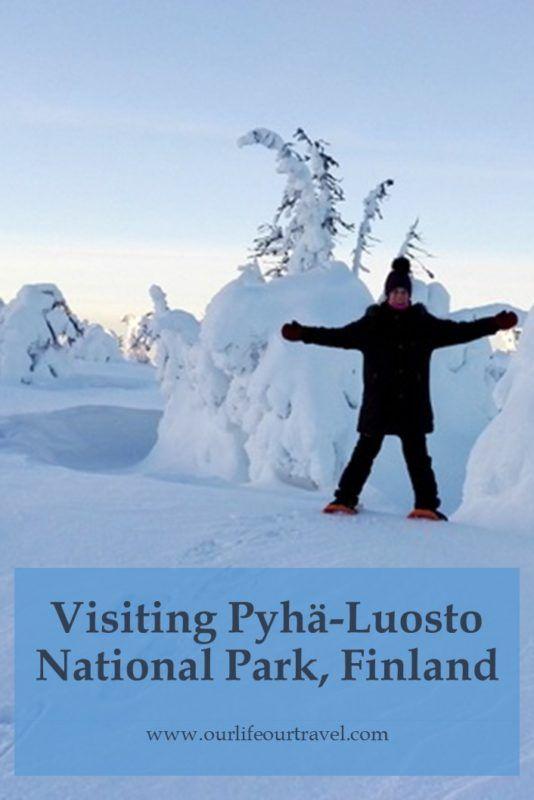 Winter in Pyhä-Luosto National Park