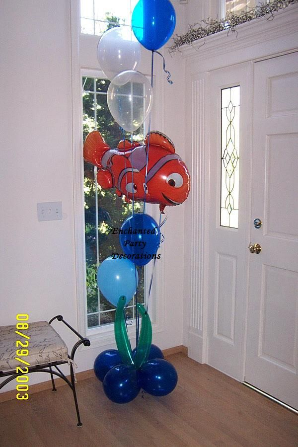 Nemo Balloon Bouquet                                                                                                                                                                                 Más
