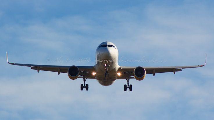 Landing Plane BCN el Prat