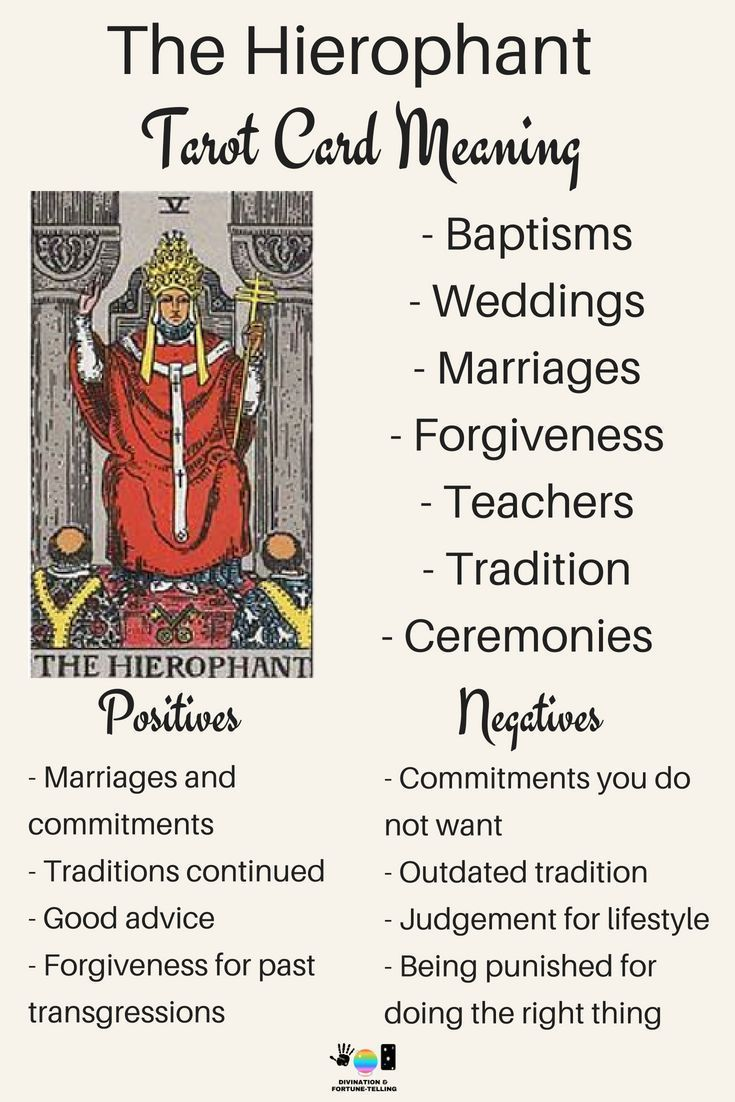 Future tarot meanings the hierophant tarot learning