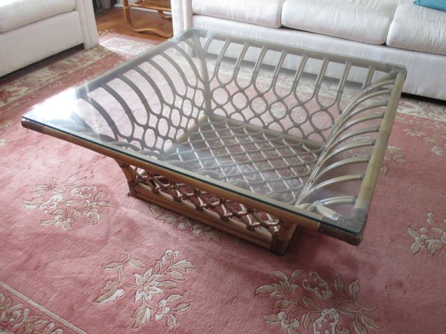 RATTAN PLATE-GLASS COFFEE TABLE SET Content sale from pleasant Kanata South home – 27 Brandy Creek Crescent, Ottawa ON. Sale will take place Saturday, May 9th 2015, from 9am to 2pm. Visit www.sellmystuffcanada.com to view photos of all available items!