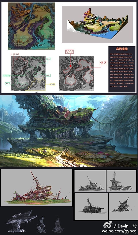 ArtStation - 辛巴废墟, Devin gao