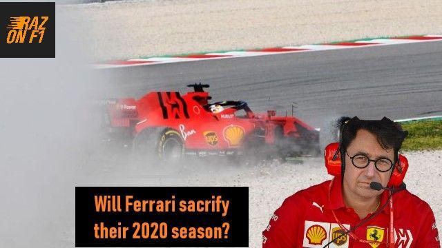Could Ferrari Sacrifice Their 2020 Season To Launch A Title Challenge In 2021 Ferrari F12020 Sf1000 In 2020 Ferrari Seasons Go Fund Me