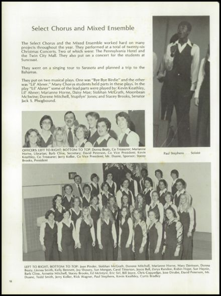 1978 Suncoast High School Yearbook via Classmates.com