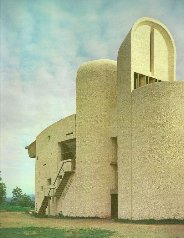Le Corbusier, Notre Dame du Haut Commune of Ronchamp