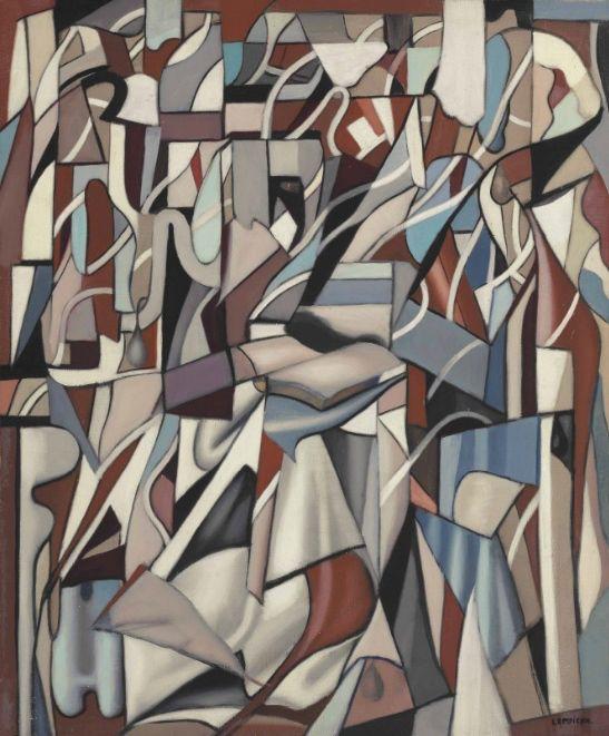 'La Liseuse III (abstrait)' by Tamara De Lempicka, ca.1956