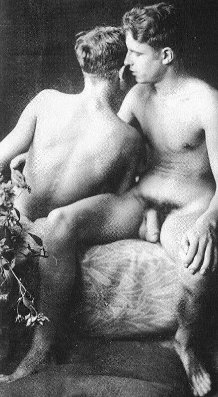 Vintage male nudes fucking