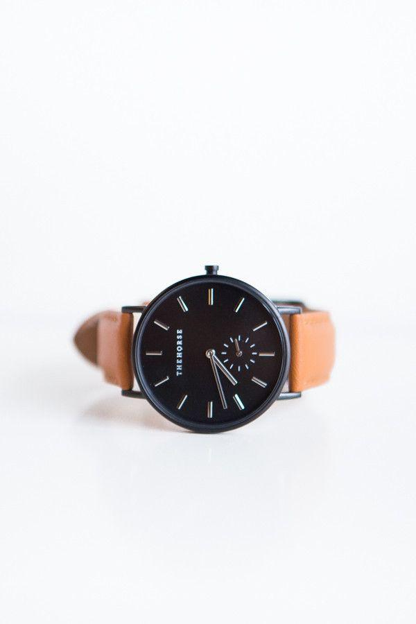The Horse Classic Leather Watch – Parc Boutique