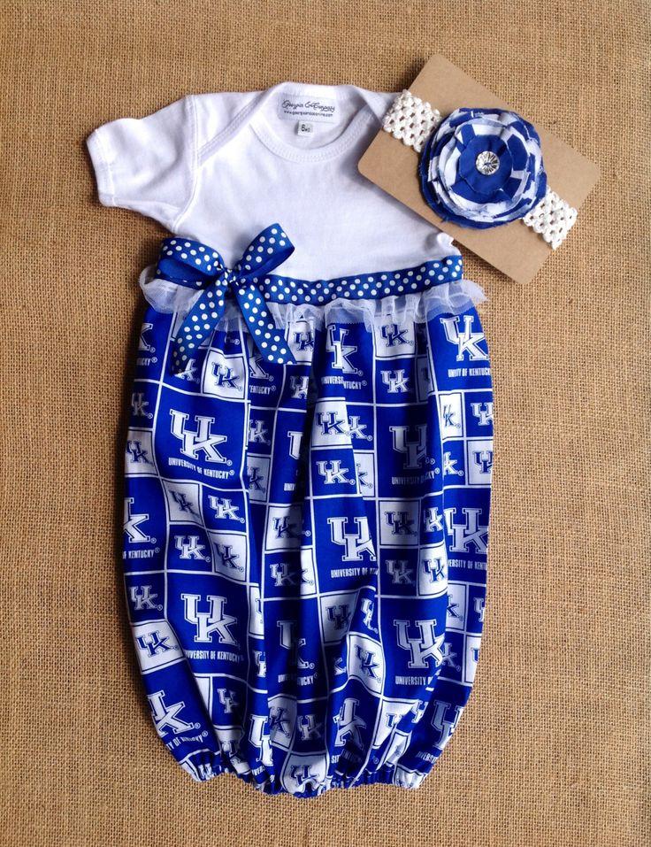 Newborn Baby Girl,UK Baby Gift,UK Wildcats Baby Girl Gift, Wildcats Baby Gown,Baby Girl Wildcat Gown,Coming Home Baby Girl Gown,Baby Shower by GeorgiaandCo on Etsy https://www.etsy.com/listing/470437300/newborn-baby-girluk-baby-giftuk-wildcats