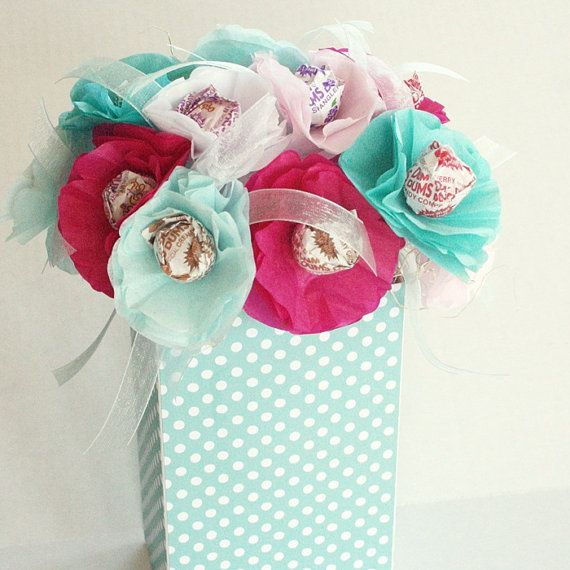 spring summer tissue paper flowers with by myknapsackdreams, $15.00
