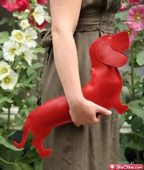 wiener dog purse? One second please, i need to get money out of my wiener.