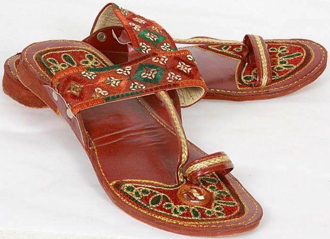 La India y sus tipos de calzado
