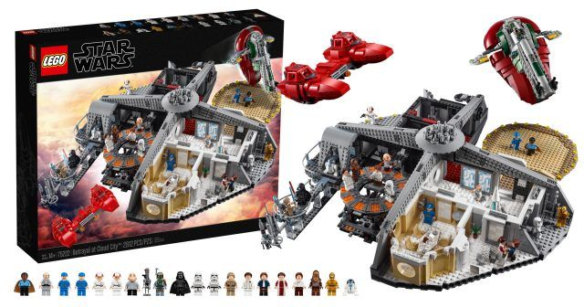Lego Reveals 75222 Betrayal At Cloud City The First Set In The Star Wars Master Builder Series News Lego News Lego Lego War