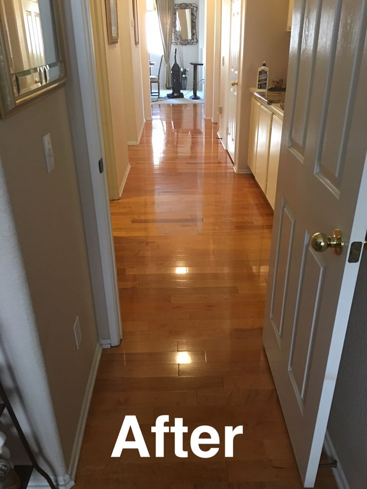 After Polishing My Hardwood Floors Using Holloway House Quick Shine Floor Cleaner Floor Finish