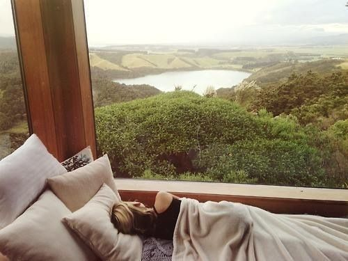 if I could have any view while I wake up it'd be this