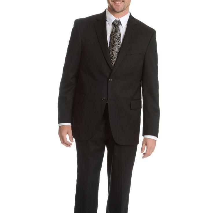 Palm Beach Men's Performance Executive Fit Suit Separates Coat