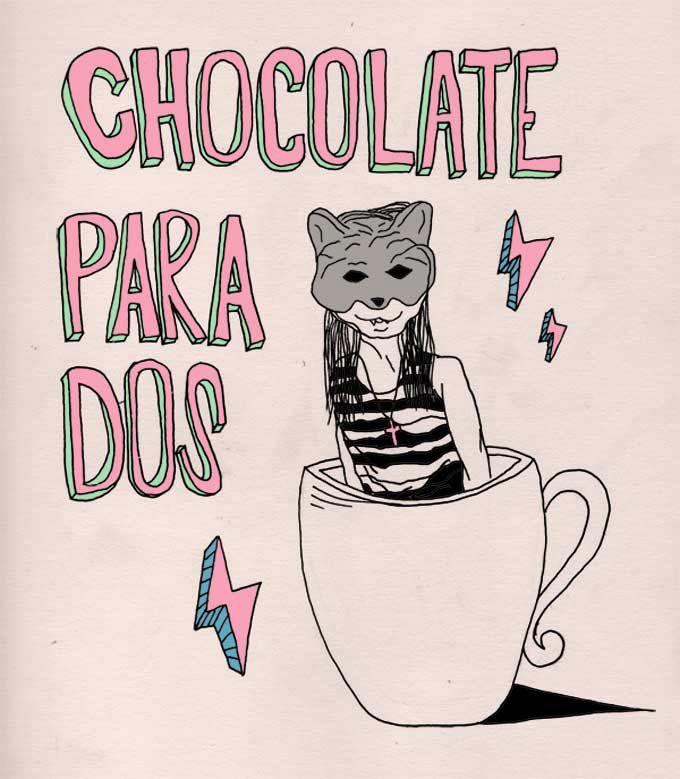 Chocolate para dos.  Denise Cressi