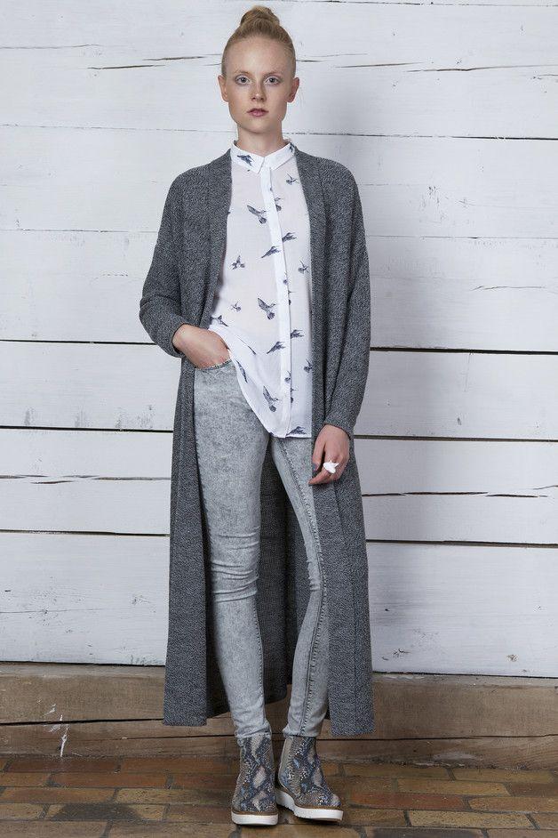 Płaszcz wiatrem niesiony - MilenaBienkowska - Długie płaszcze