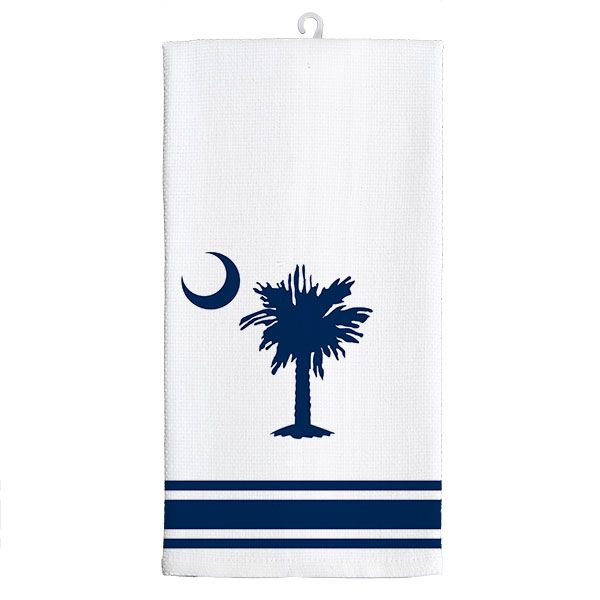 Kitchen Tea Towel-Palmetto Moon - Occasionally Made - Classic Gifts with a Trendy Twist!