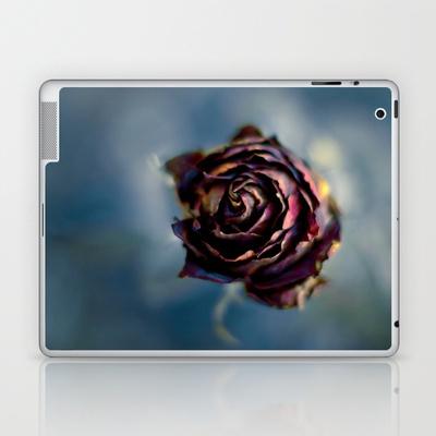 La rosa y el tiempo Laptop & iPad Skin by unaciertamirada - $25.00