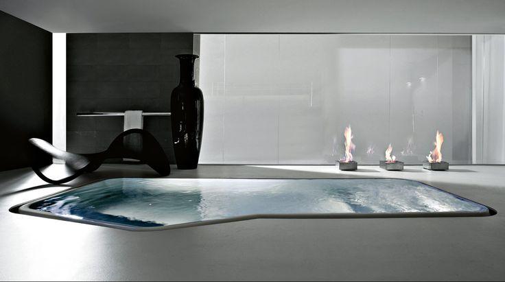 Center Tub Bathroom Design : Ideas about bathtub dimensions on small