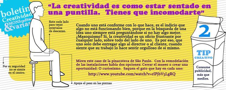 La creatividad incomoda