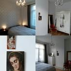 De nieuwe slaapkamer(deel 1) in oud landelijke stijl met enkele vintage accenten!