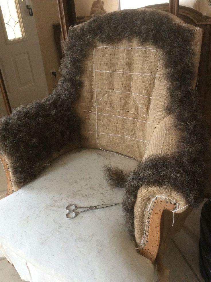 1000 id es propos de fauteuil anglais sur pinterest - Chaise blanc d ivoire ...